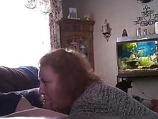 Chrissy Nienhardt gives me a blowjob and swallows 4-14-19