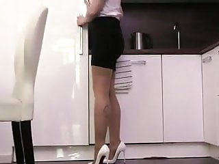 First High heels Penetration for Angie Lynx and she's wet