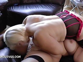 Sarah Jane has sex with Granny Lacey