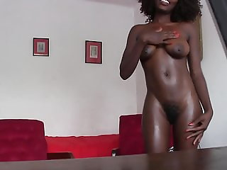 African Beauty Anal Casting