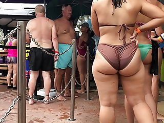 big ass on the beach