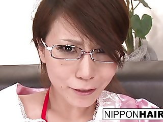 Asian maid is tied up and forced to cum