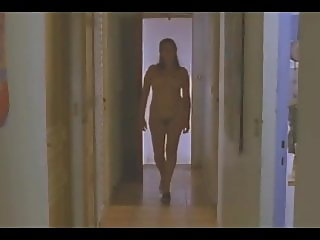 Woman caught naked on house by visitor