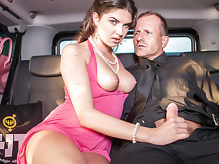 LETSDOEIT - Busty Teen Picked Up At The Airport Gets Banged