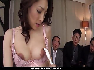 Busty Marina Matsumoto works a bunch of  - More at Japanesem