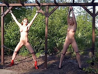 CMNF - Slave girls whipped and humiliated BDSM