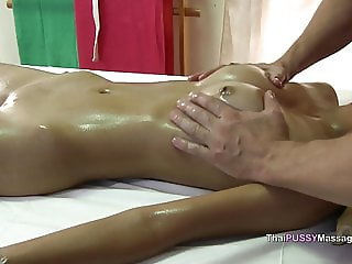 young thai girl receives happy ending oil massage