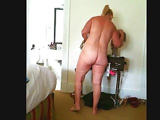 BEAUTIFUL 60+ YEAR OLD WIFE IN HOTEL